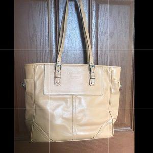 Coach purse - Camel Color